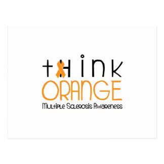 Think Orange - Multiple Sclerosis Awareness Postcard