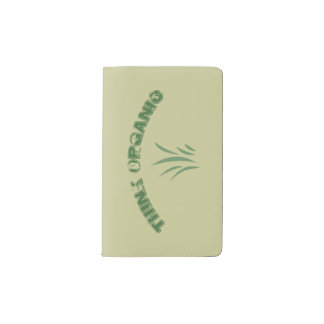 Think Organic Notebook Cover