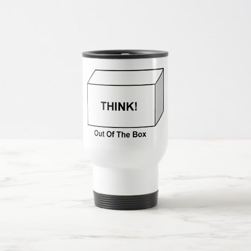 Think out of the Box 15 Oz Stainless Steel Travel Mug
