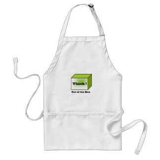 Think out of the Box Adult Apron