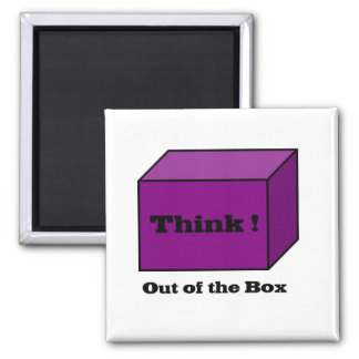 Think out of the Box Magnets