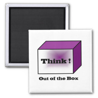 Think out of the Box Fridge Magnets
