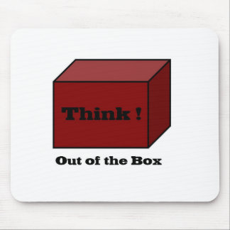 Think out of the Box Mousepads