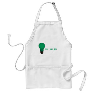 Think Out The Box Light Bulb Apron