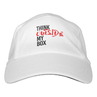 THINK OUTSIDE MY BOX - HAT