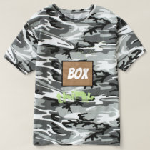 think outside of the box camouflage shirt