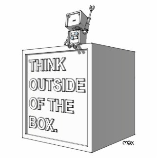 THINK OUTSIDE OF THE BOX Photo Sculpture