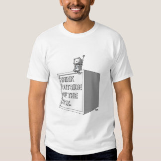 THINK OUTSIDE OF THE BOX T-Shirt 4