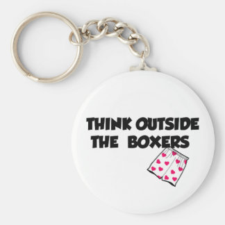 think outside of the boxers keychains
