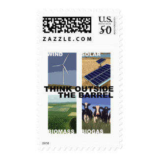 Think Outside the Barrel Postage