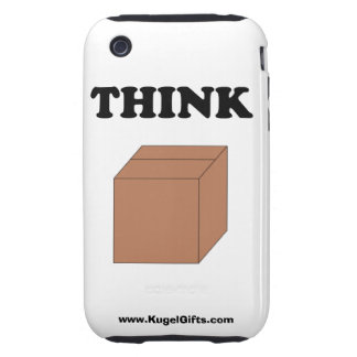 """""""Think Outside the Box"""" 3G/3GS Tough Tough iPhone 3 Covers"""