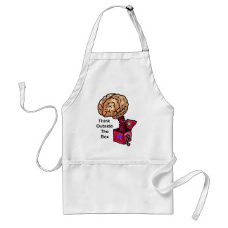Think Outside the Box Adult Apron