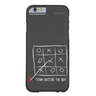Think Outside the Box Barely There iPhone 6 Case