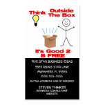 Think Outside The Box Business Card