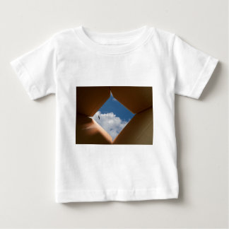 Think Outside The Box Cardboard Concept.jpg Baby T-Shirt