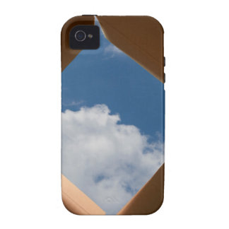 Think Outside The Box Cardboard Concept.jpg iPhone 4 Cover