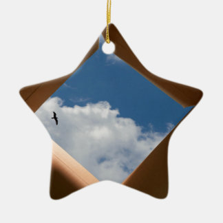 Think Outside The Box Cardboard Concept.jpg Ornament
