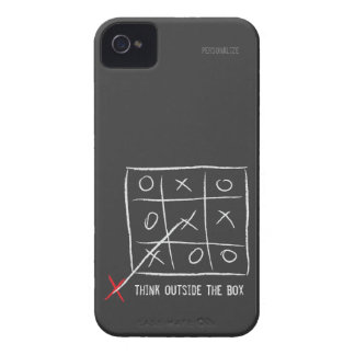 Think Outside the Box iPhone 4 Cover