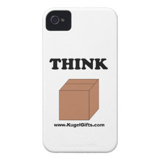"""""""Think Outside the Box"""" Case-Mate ID 4/4S iPhone 4 Case"""