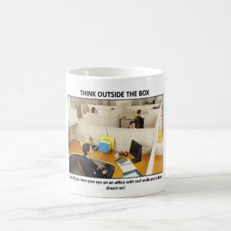 think-outside-the-box coffee mug
