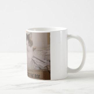 Think outside the box... coffee mug