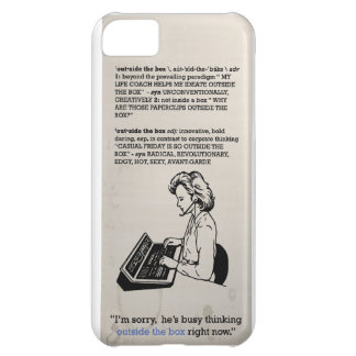 think outside the box for iPhone Cover For iPhone 5C