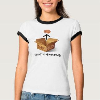 think outside the box, freethinkersrock T-Shirt