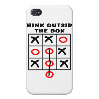 Think Outside The Box iPhone 4/4S Cover