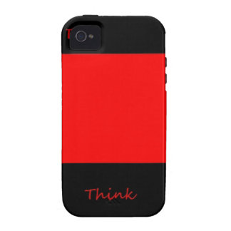 Think Outside The Box iPhone 4 Cases