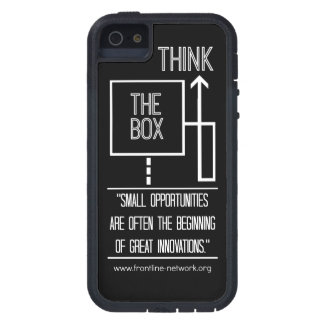 """Think Outside the Box."" iPhone 5 case. iPhone SE/5/5s Case"