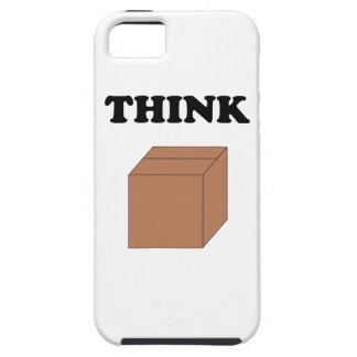 """""""Think Outside the Box"""" iPhone 5 Vibe Case"""