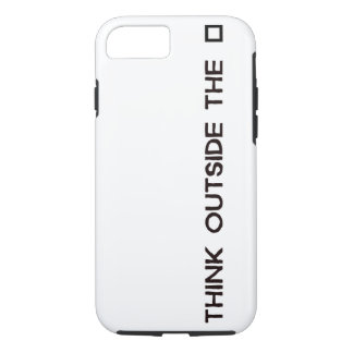 THINK OUTSIDE THE BOX iPhone 8/7 CASE