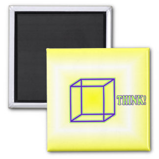 Think Outside the Box! Magnet