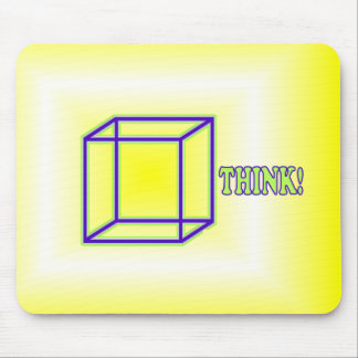 Think Outside the Box! Mouse Pad