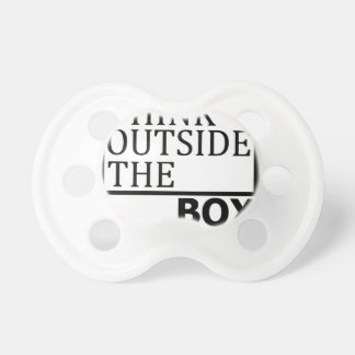 Think Outside The Box Pacifier