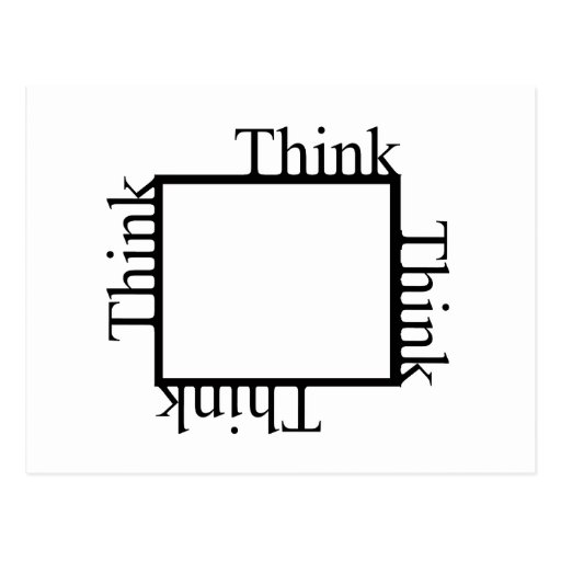 Think Outside the Box Post Cards