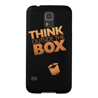 Think outside the box-Samsung Galaxy S5, Barely Case For Galaxy S5