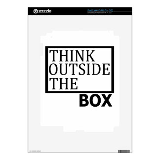 Think Outside The Box Skins For The iPad 2