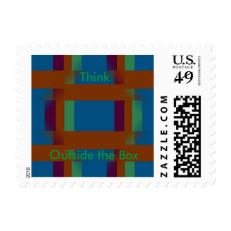 Think Outside the Box Stamp