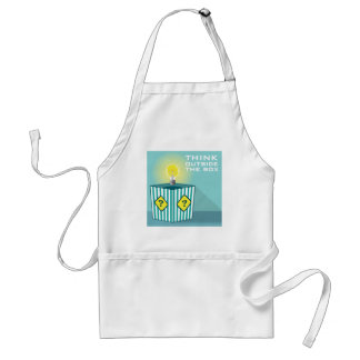 Think Outside The Box Vector Adult Apron