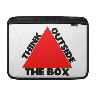 Think Outside The Box With Triangle MacBook Sleeve
