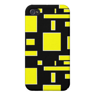 Think outside the boxes (yellow) iPhone 4/4S cases