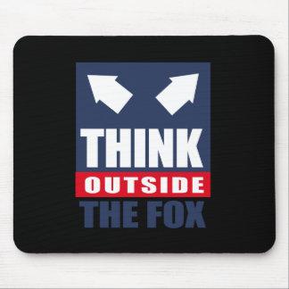 Think outside the fox mousepad