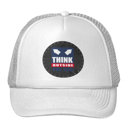 Think outside the fox trucker hats