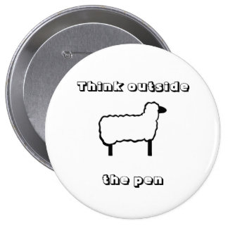"""Think outside the pen"" button"