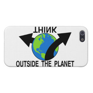 Think Outside The Planet Case For iPhone SE/5/5s