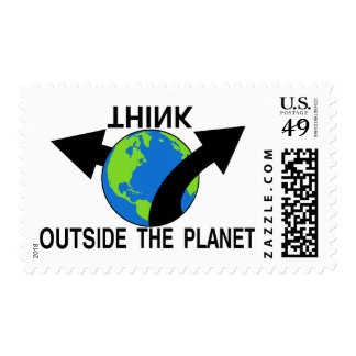 Think Outside The Planet Postage