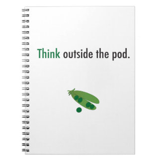 think outside the pod inspiration notebook
