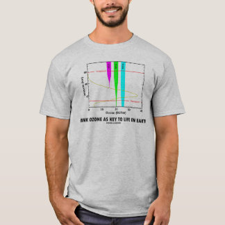 Think Ozone As Key To Life On Earth (Graph) T-Shirt