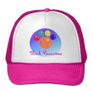 Think Pawsitive_Paw-shaped balloon bouquet hat hat